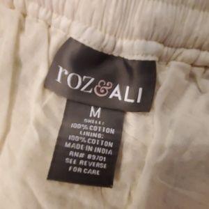 Roz & Ali Dresses - Crochet boho skirt